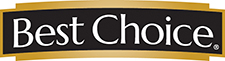 a logo saying best choice