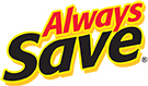 A logo saying always save
